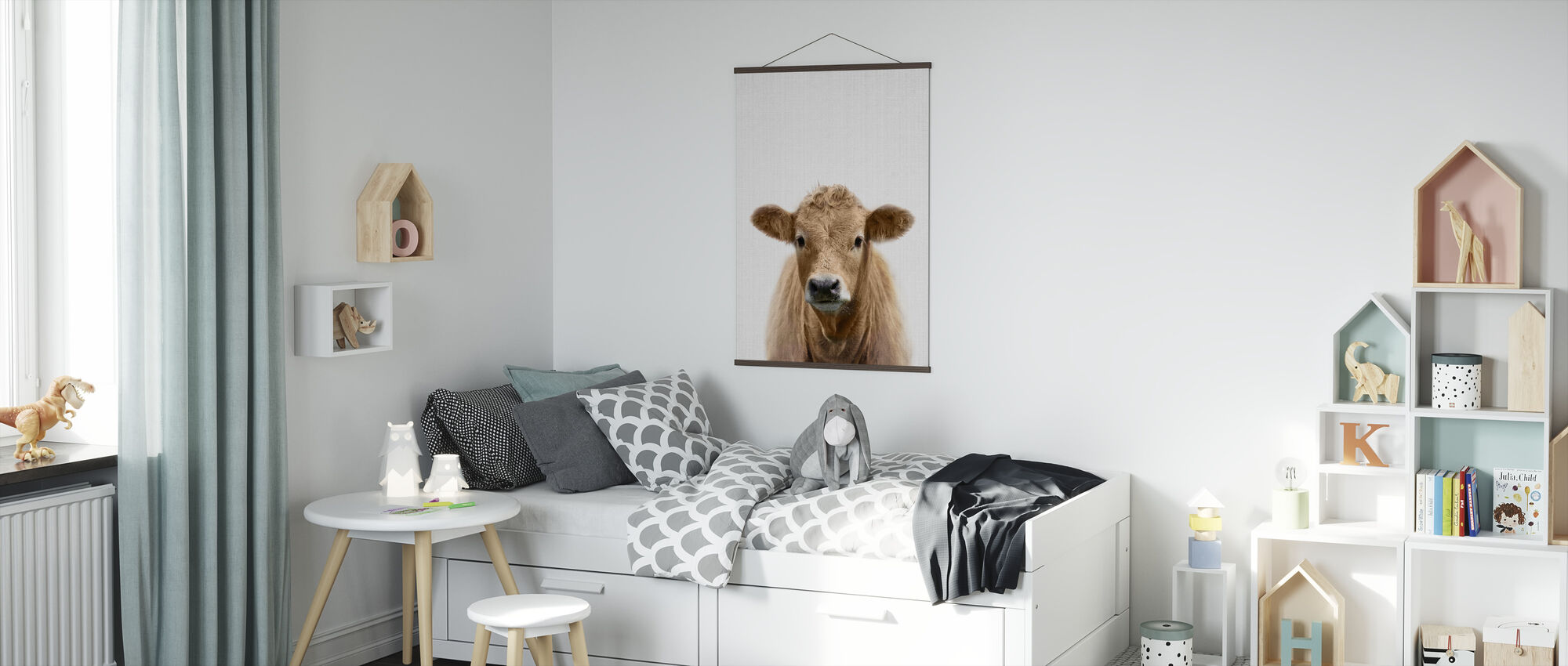 Cow - Poster - Kids Room