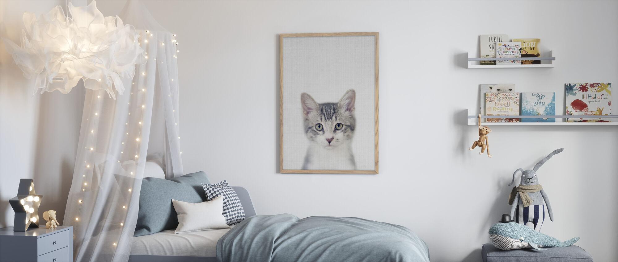Kitten - Framed print - Kids Room