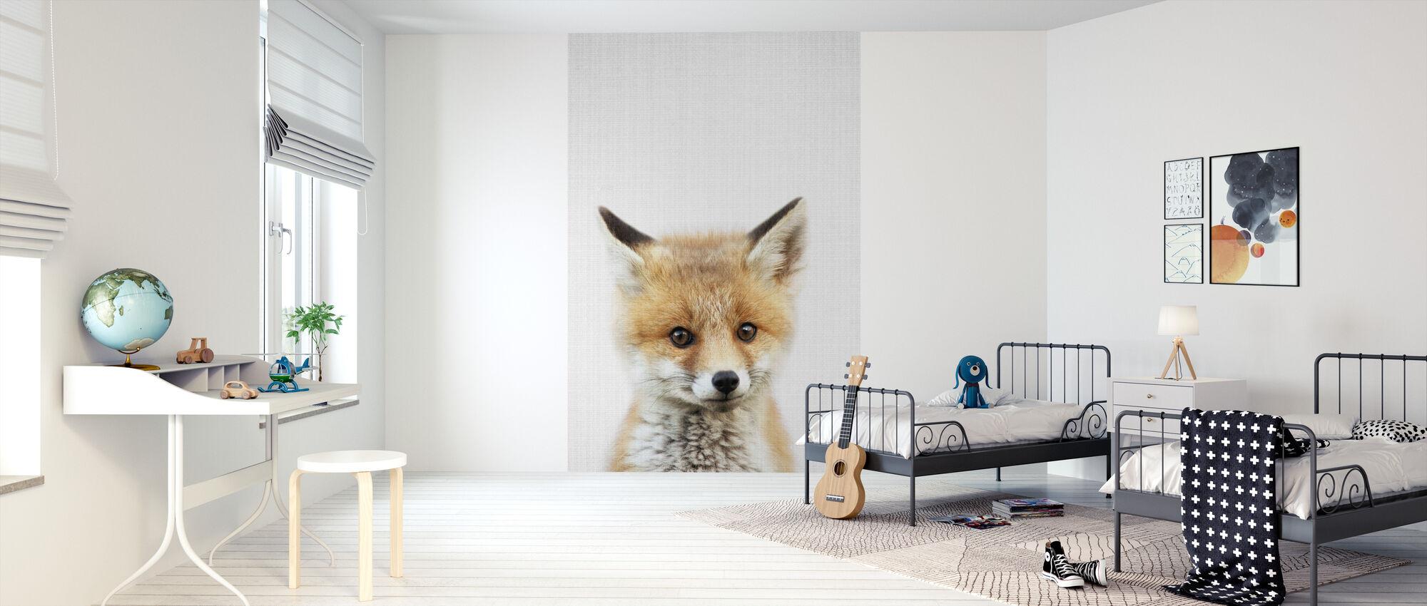 Baby Fox - Tapet - Barnerom
