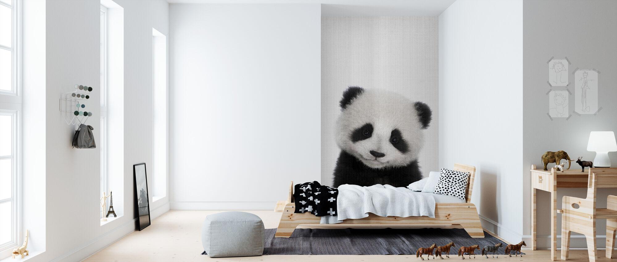 Panda - Tapet - Barnerom