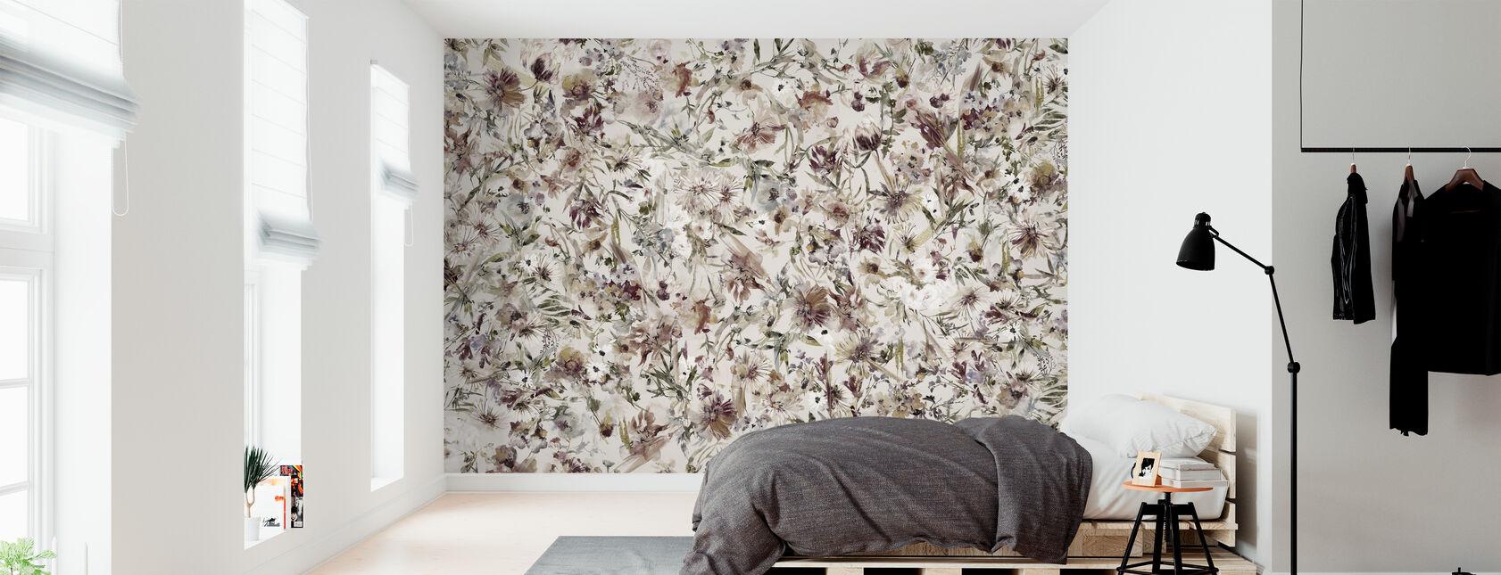Blossom bohemio - Papel pintado - Dormitorio