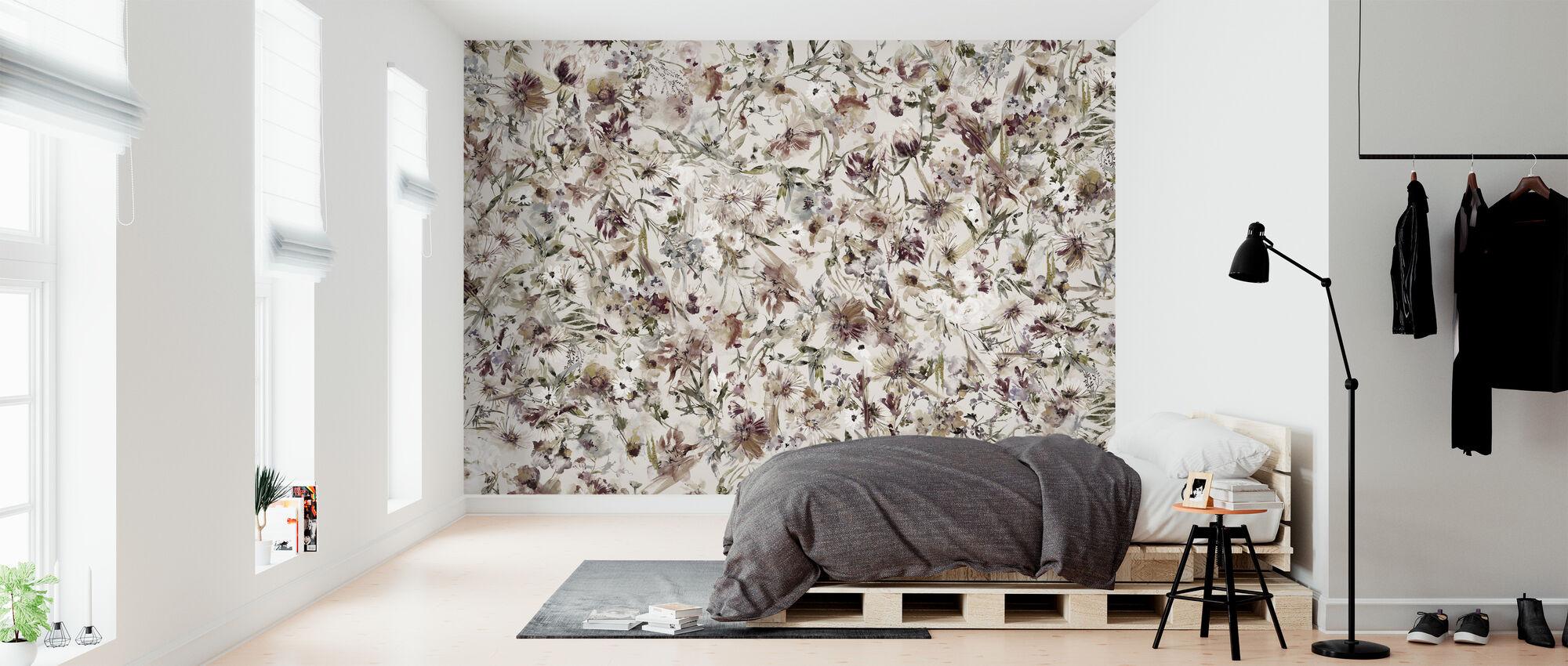 Bohemian Blossom - Wallpaper - Bedroom