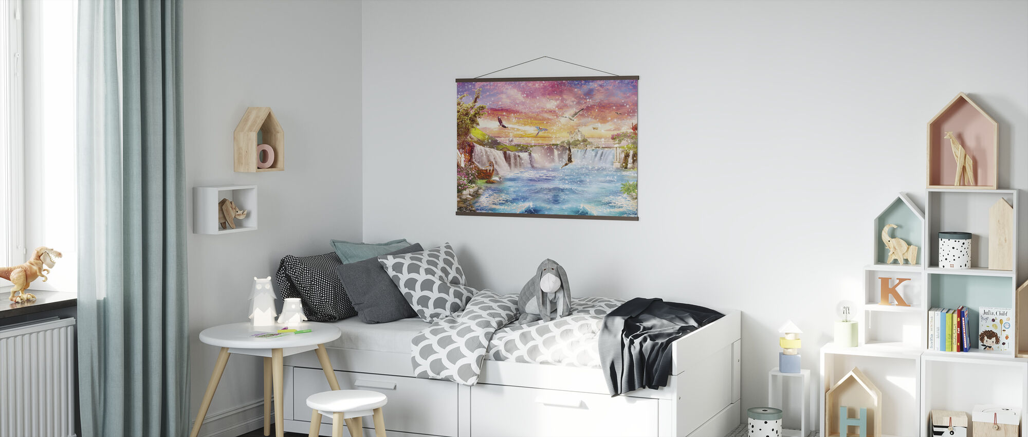 Magical Waterfall - Poster - Kids Room