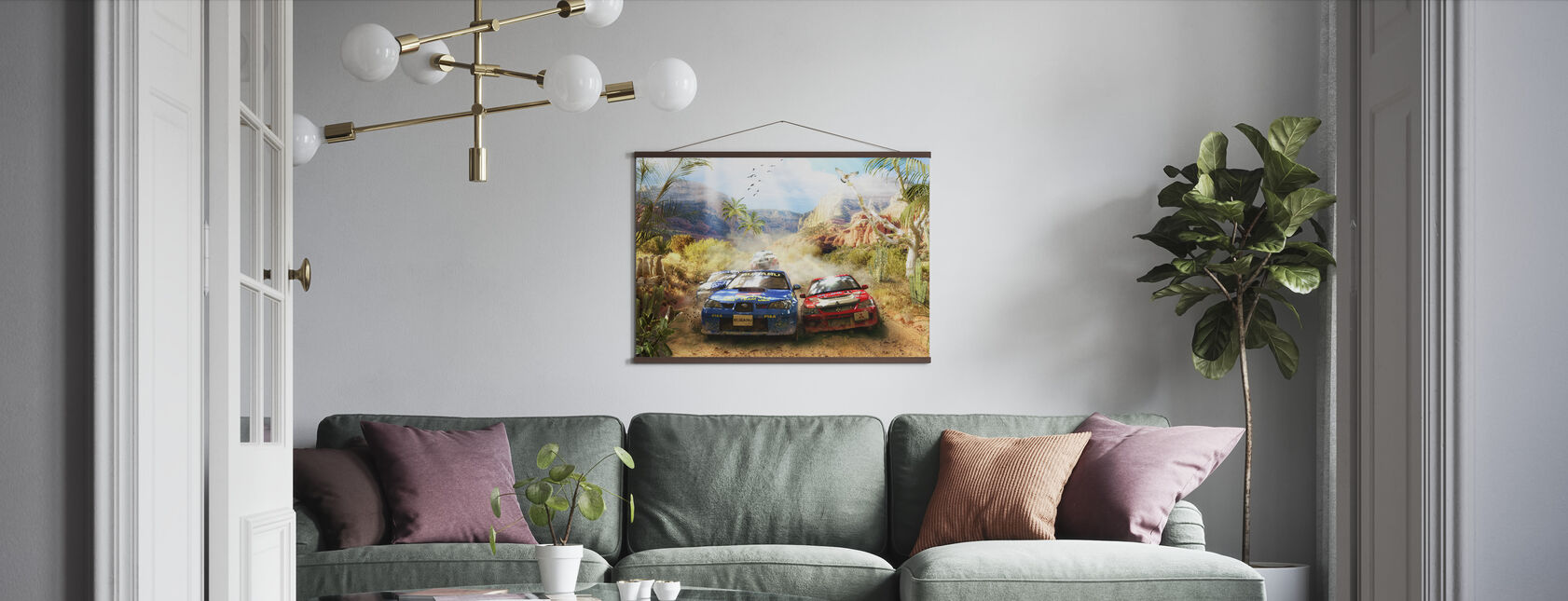 Rally - Poster - Woonkamer