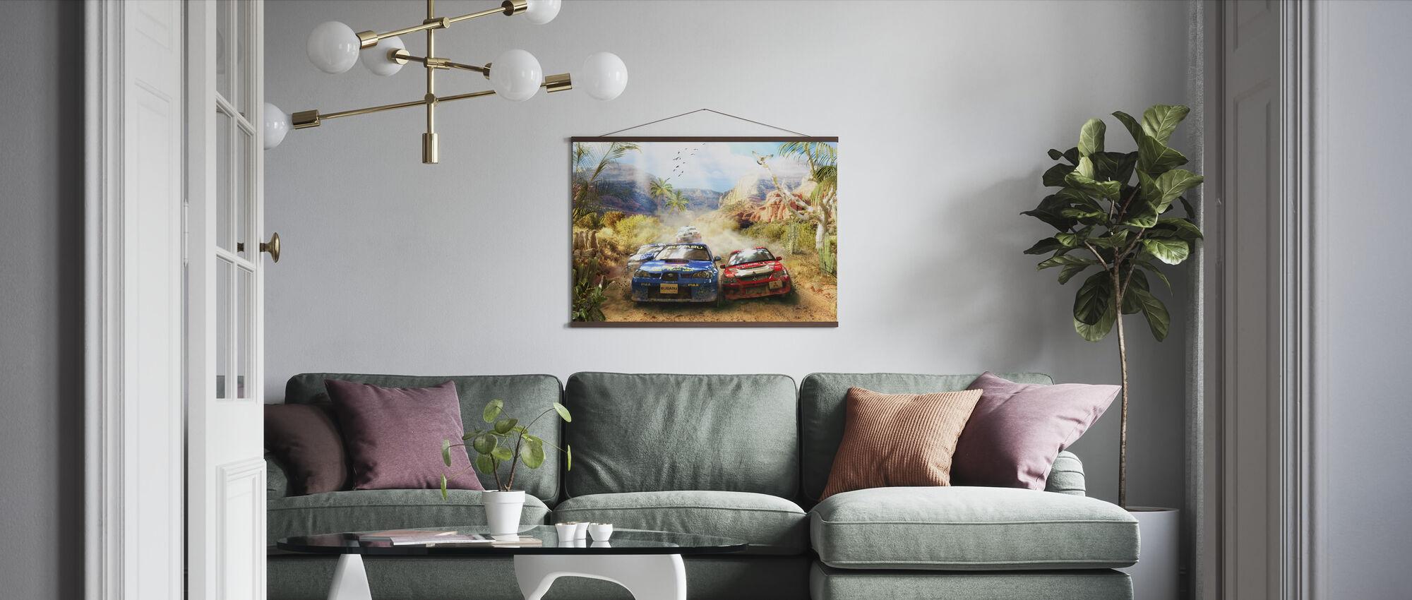 Rally - Poster - Living Room