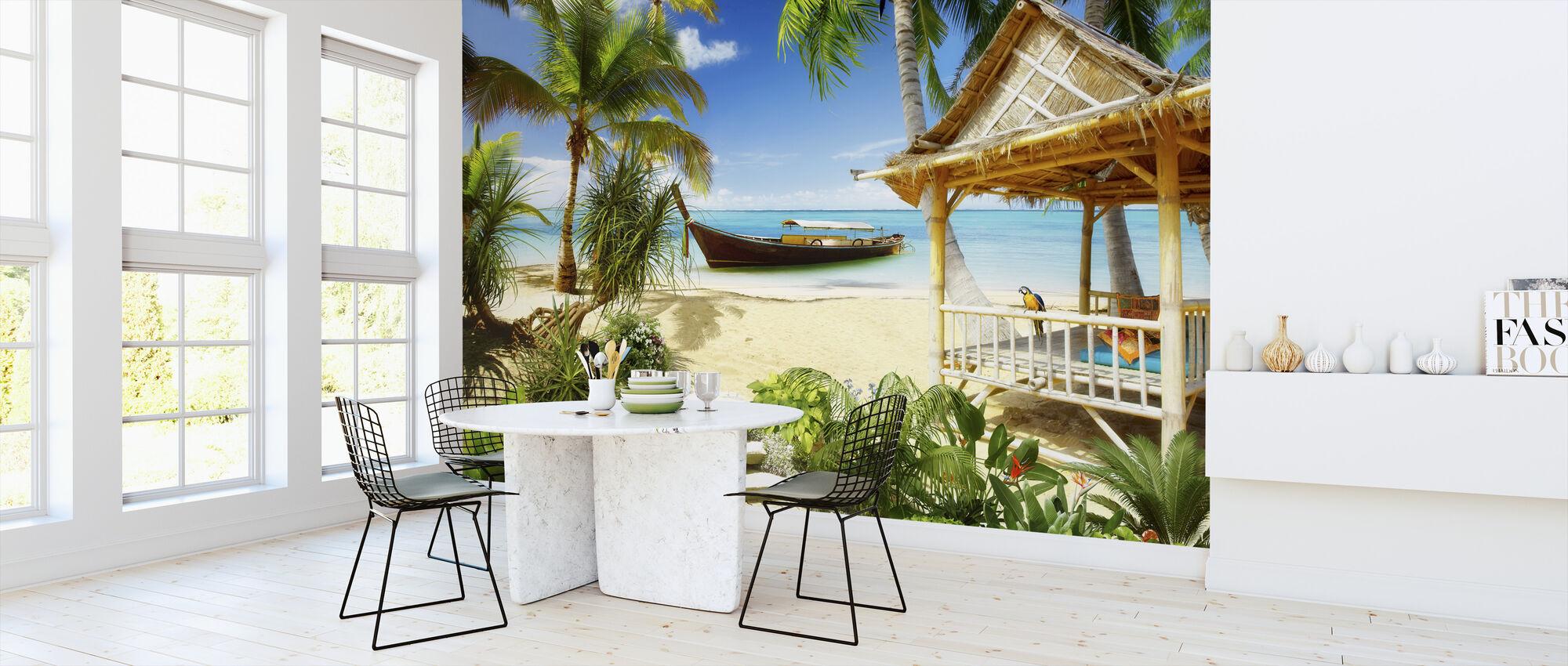 Retro Tropics - Wallpaper - Kitchen
