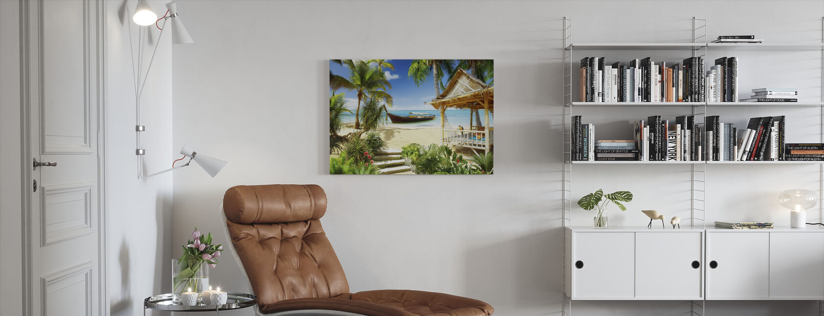 Retro Tropics - Canvas print - Living Room