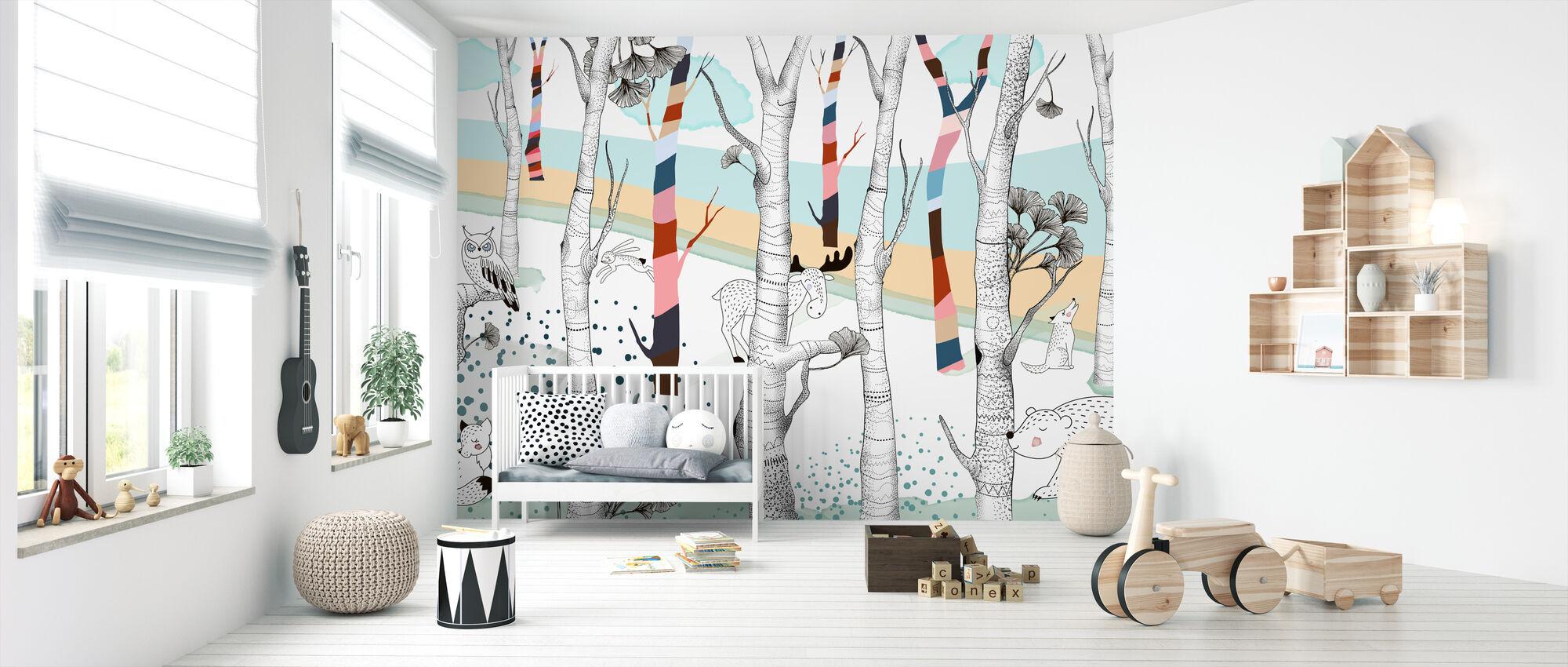Woodland - Potpourri - Wallpaper - Nursery