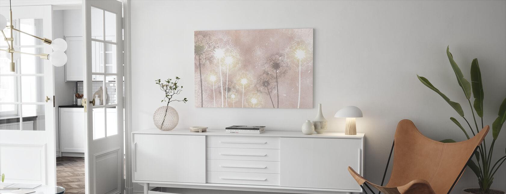 Dandelion Sky VIII - Canvas print - Living Room