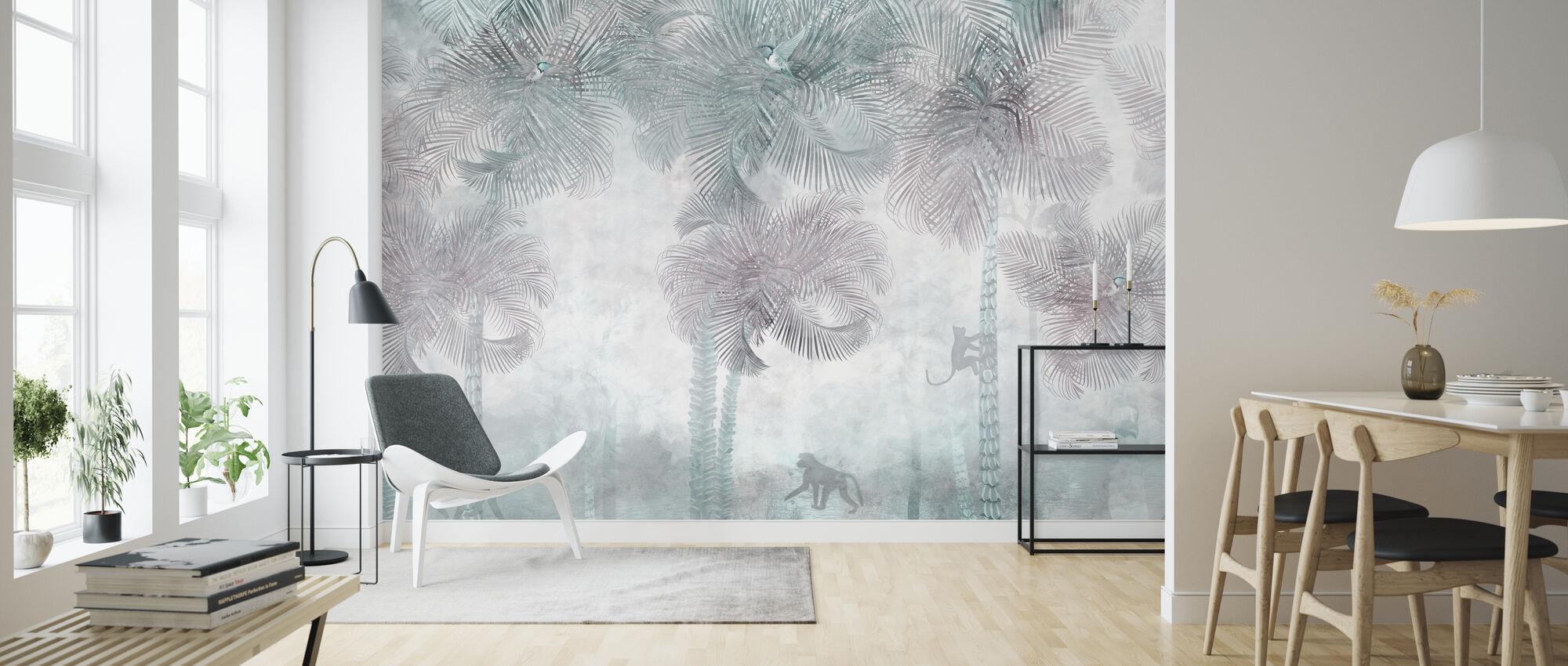 Monkeys Residence - Wallpaper - Living Room