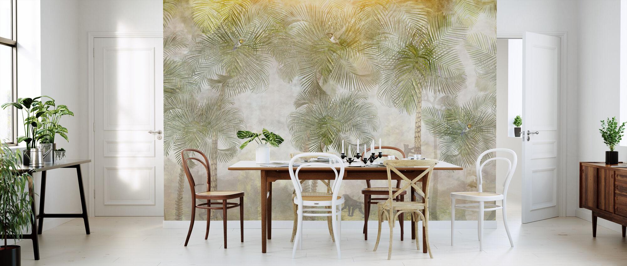 Monkeys Residence II - Wallpaper - Kitchen