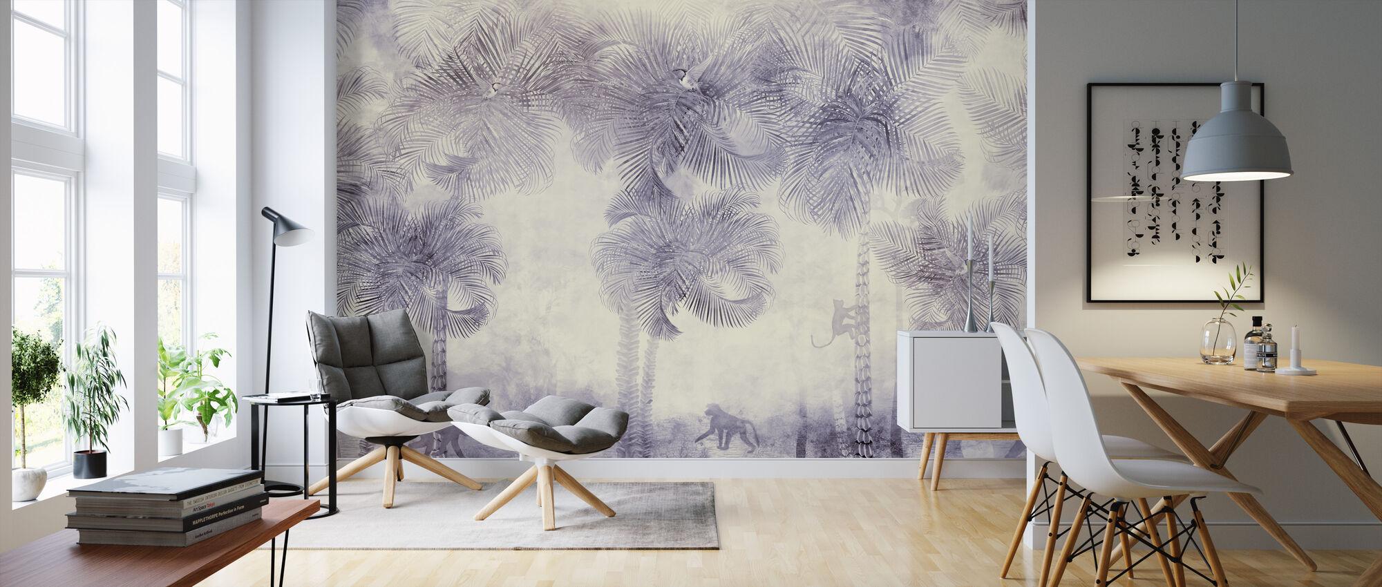 Monkeys Residence VIII - Wallpaper - Living Room