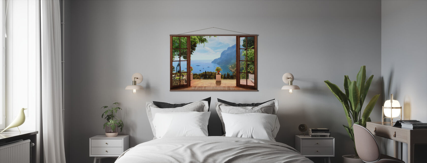 Terrace View - Poster - Bedroom