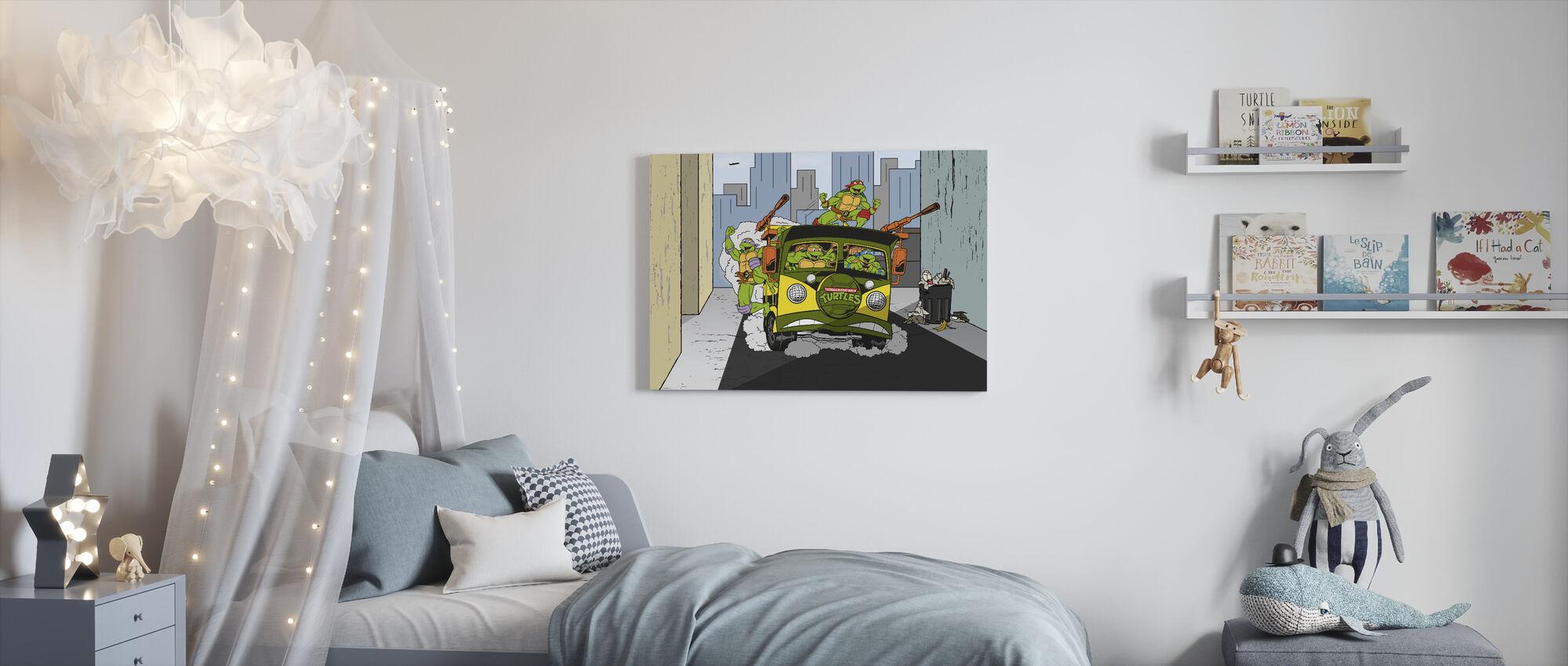 NYC Attitude - Canvas print - Kids Room