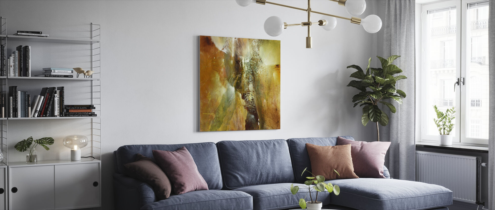 Abstract Composition - Canvas print - Living Room