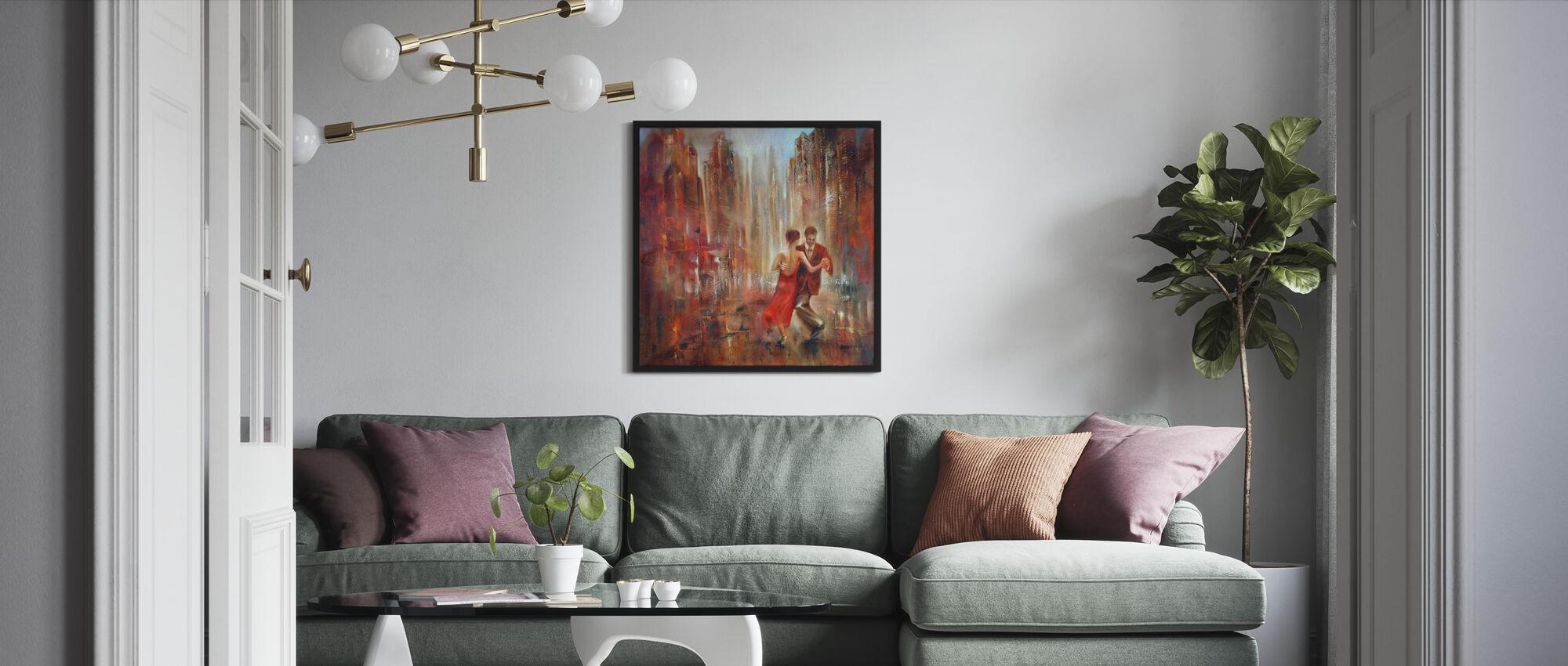 Tango - Framed print - Living Room