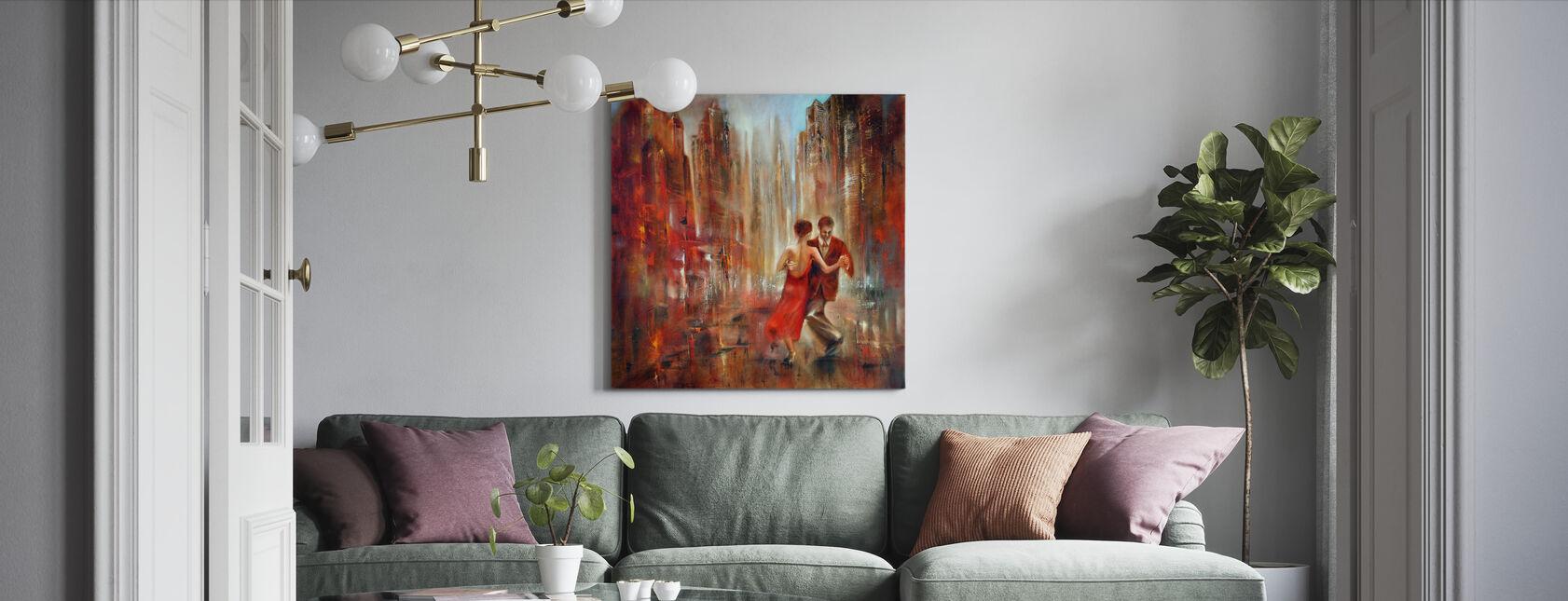 - Tango - Billede på lærred - Stue
