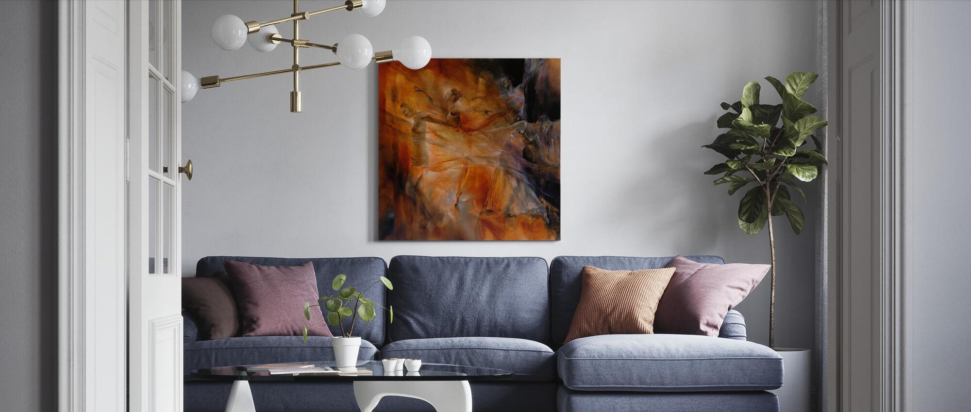 Balance Four Dancers - Canvas print - Living Room