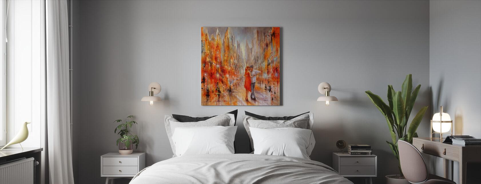Salsa - Canvas print - Slaapkamer