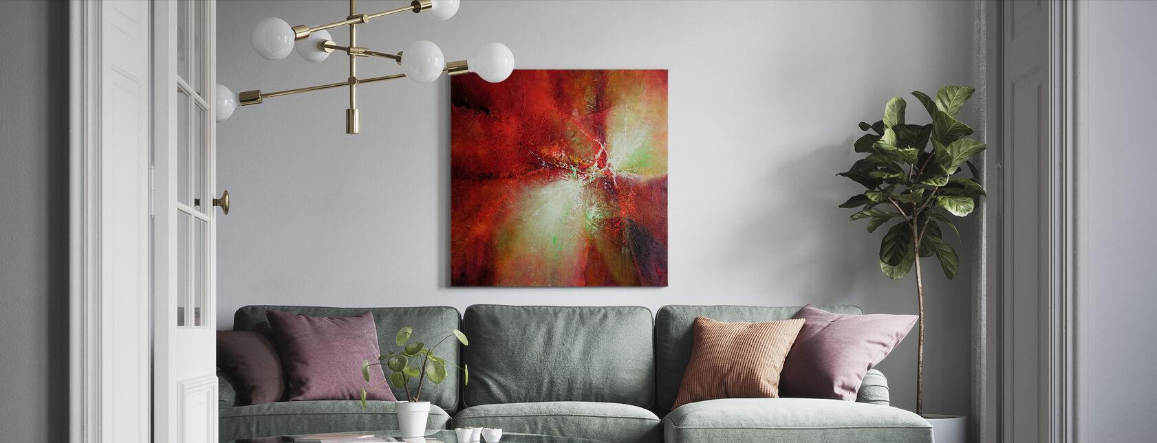 Energy - Canvas print - Living Room