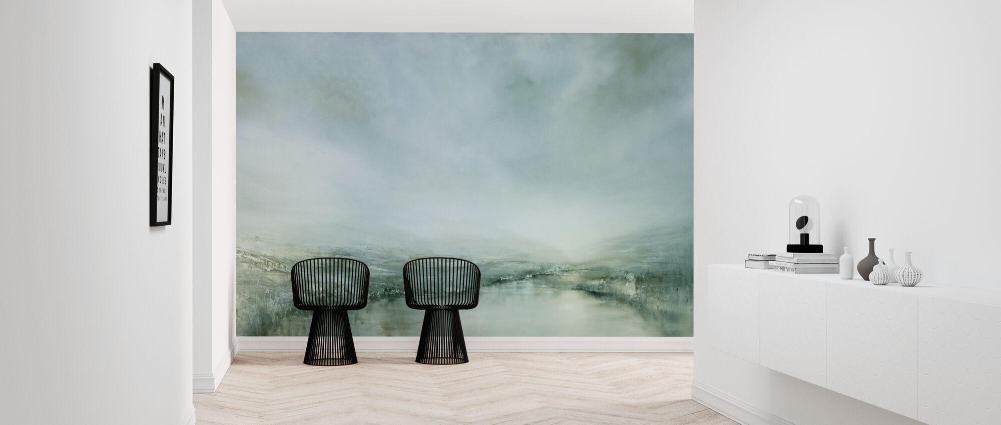Morning Dew - Wallpaper - Hallway