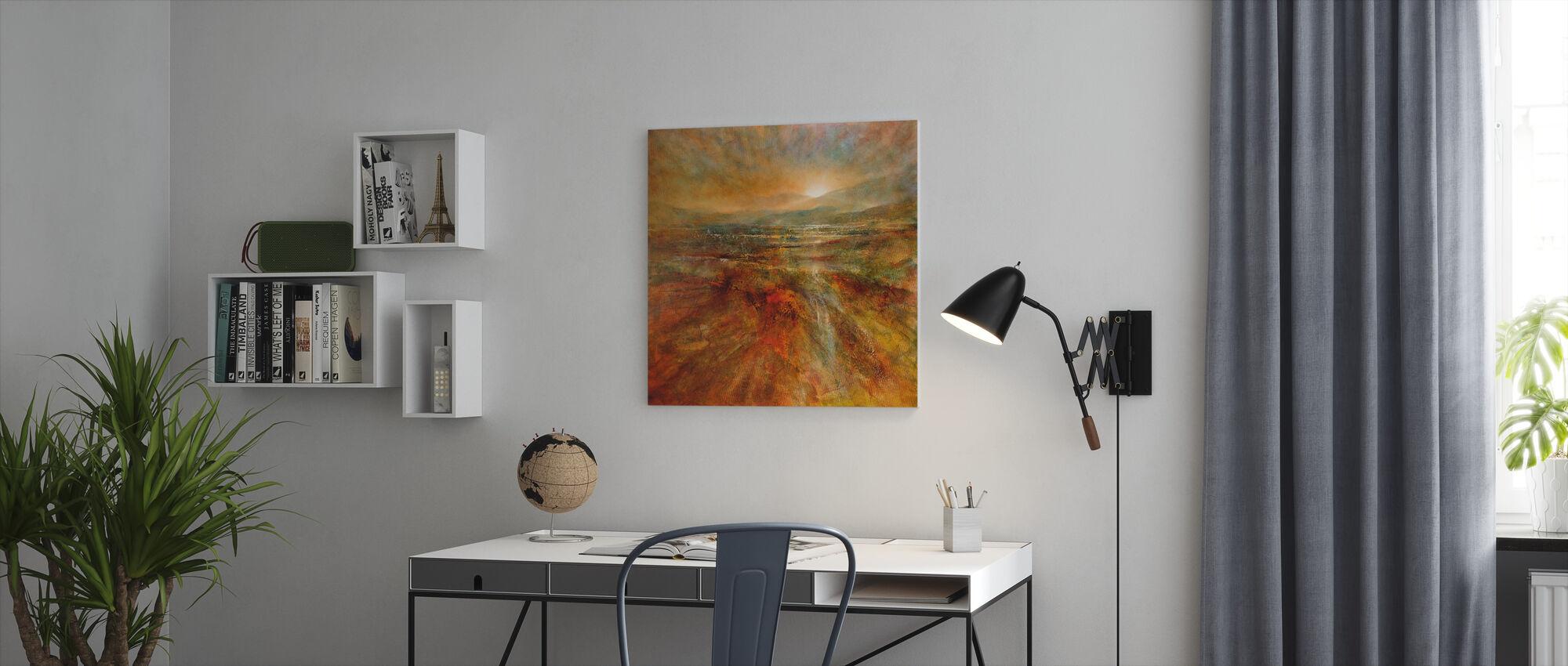 Sunrise - Canvas print - Office