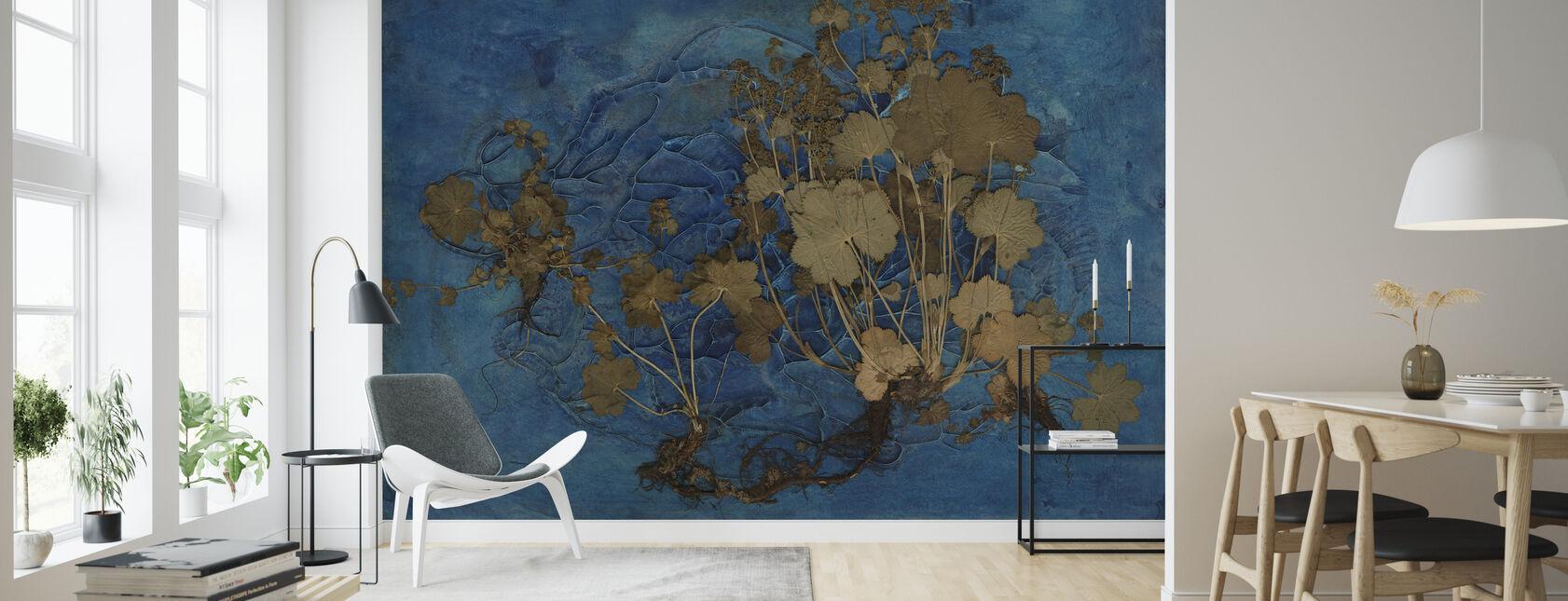 Alchemilla Vulgaris - Wallpaper - Living Room