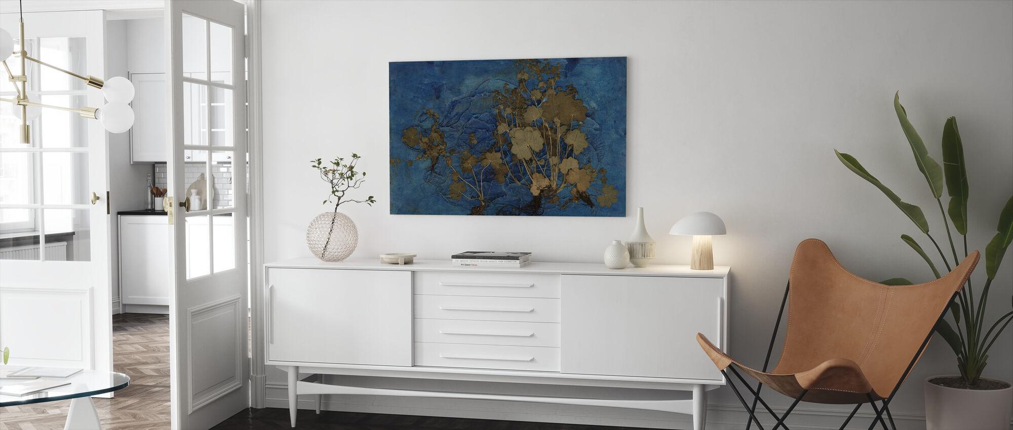 Alchemilla Vulgaris - Canvas print - Living Room