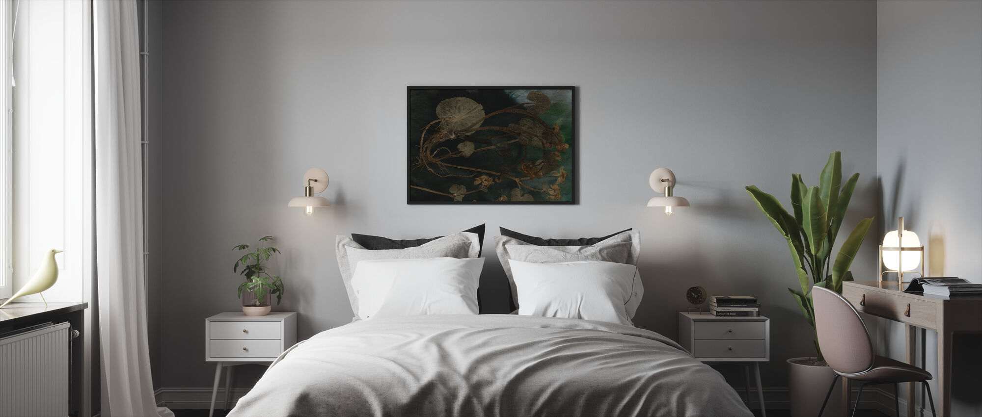 Marigold March - Ingelijste print - Slaapkamer