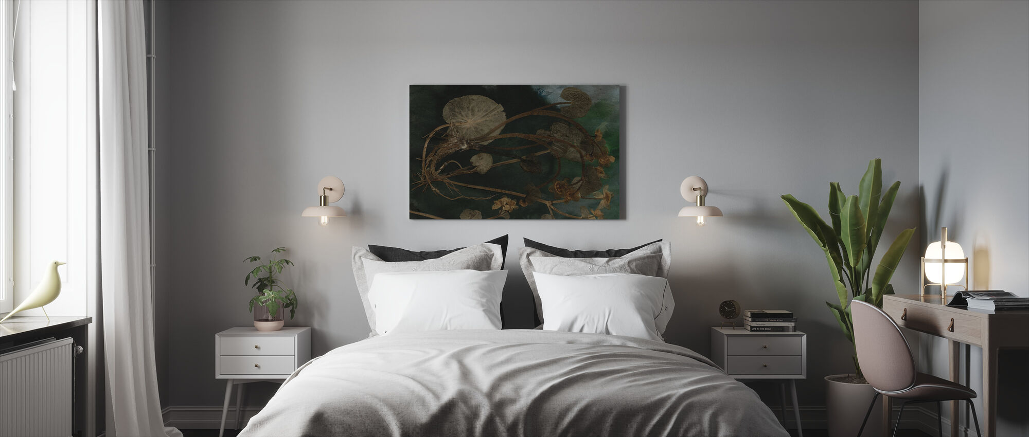 March Marigold - Canvas print - Bedroom