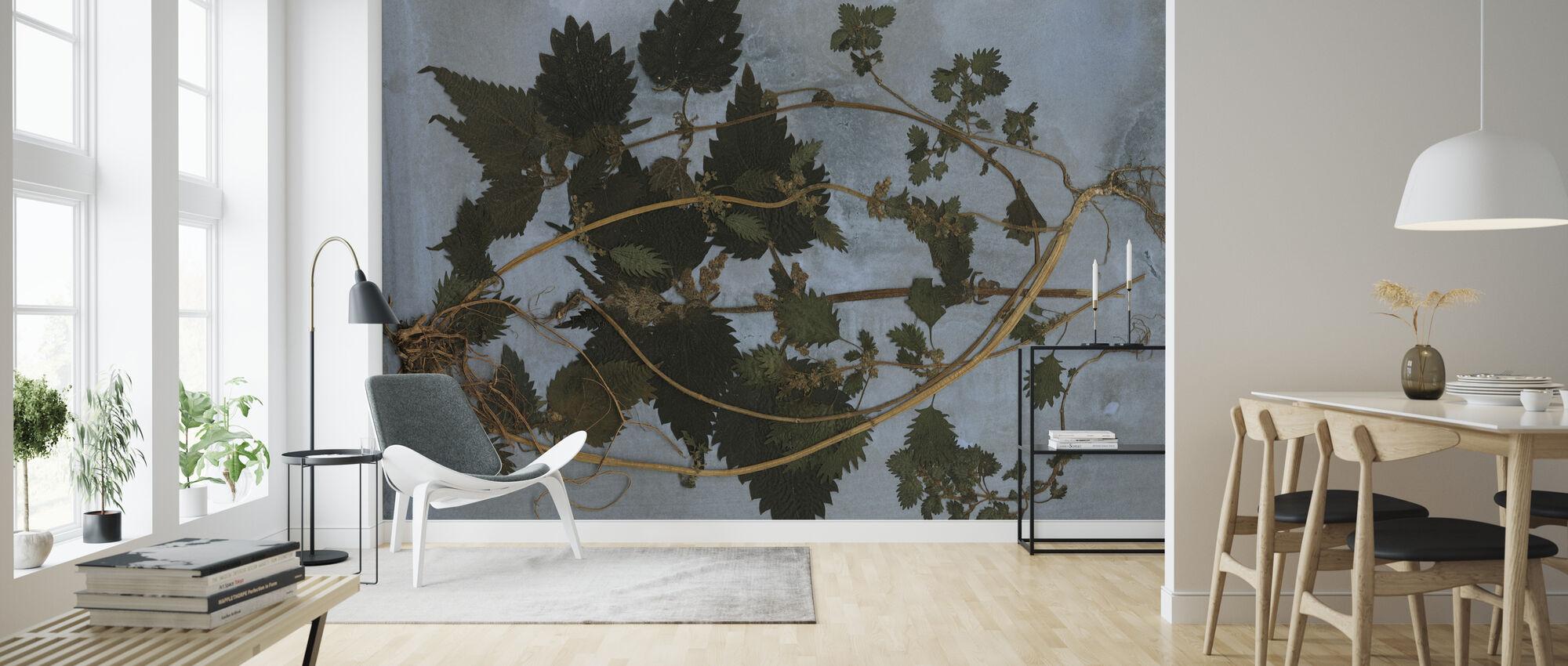 Nettles - Wallpaper - Living Room