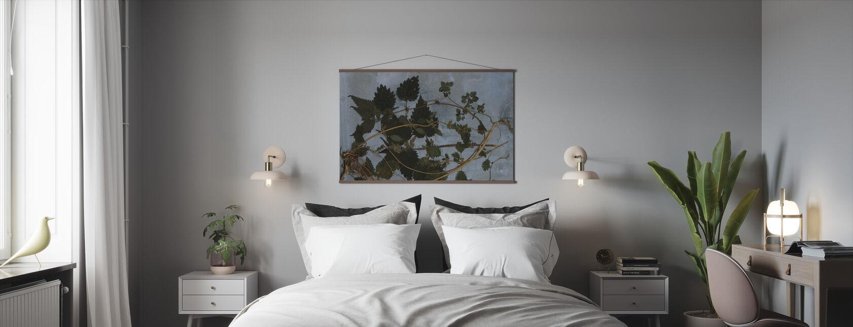 Brandnetels - Poster - Slaapkamer