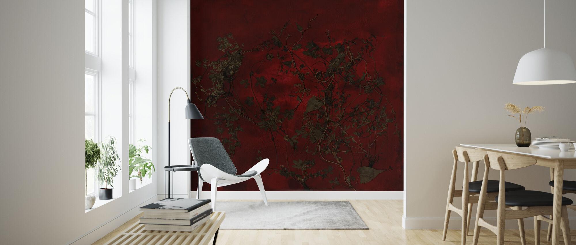 Night Garden - Wallpaper - Living Room