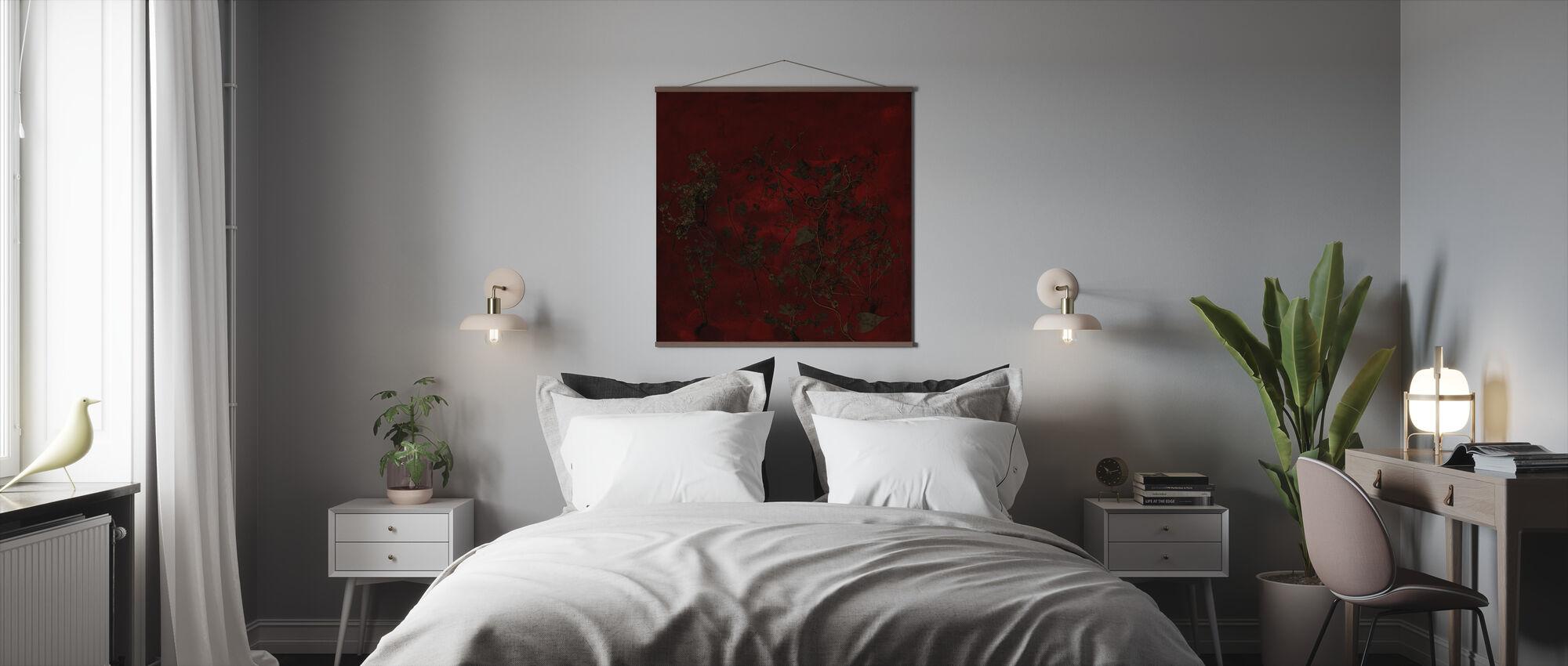 Nat Have - Plakat - Soveværelse