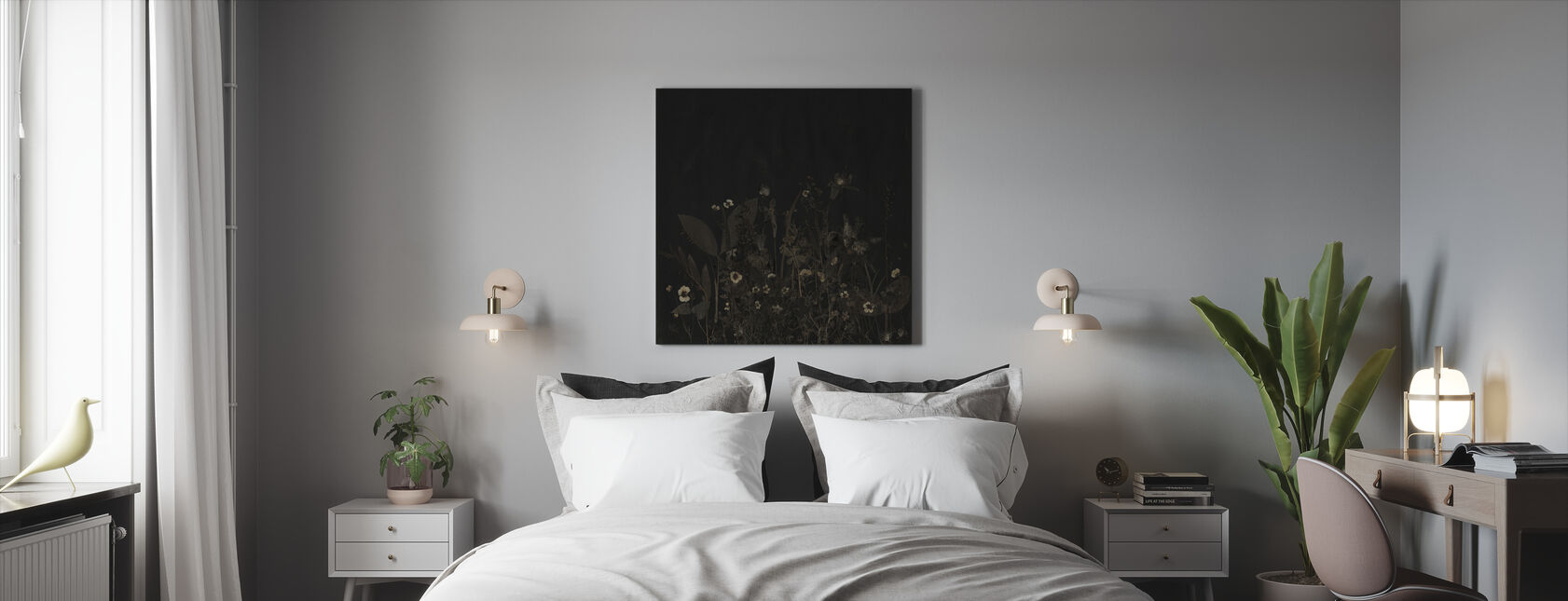 Nocturnal - Canvas print - Bedroom