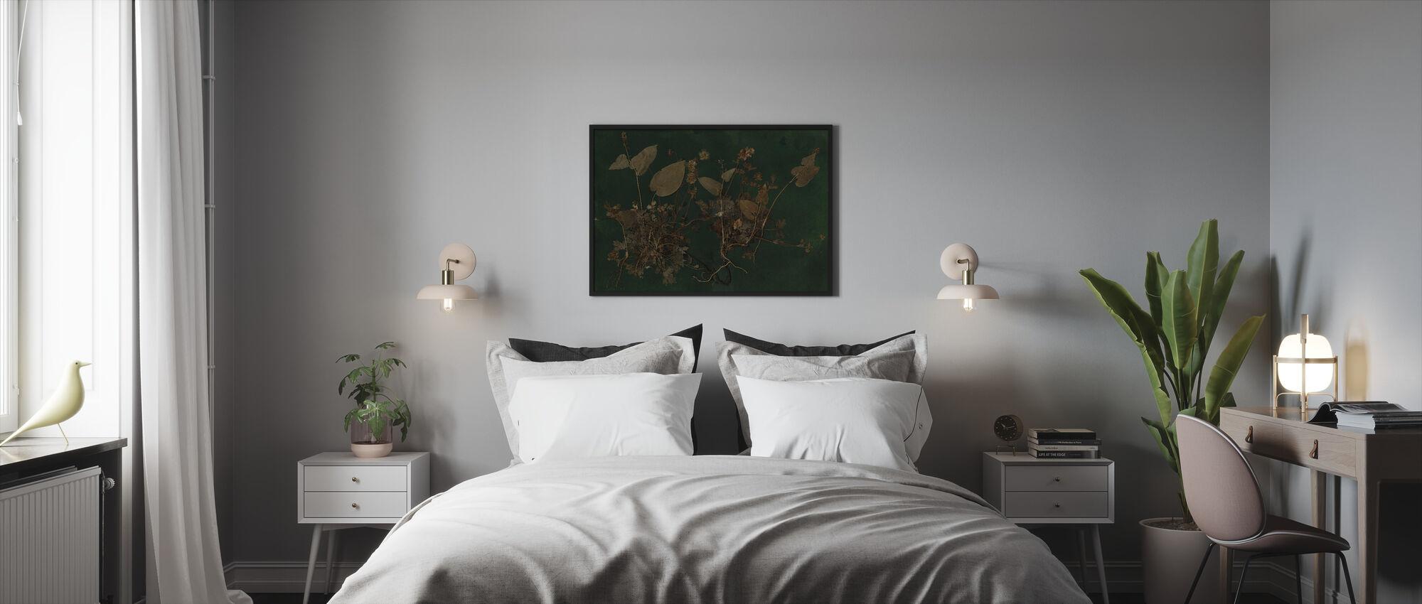 Plantasia - Ingelijste print - Slaapkamer