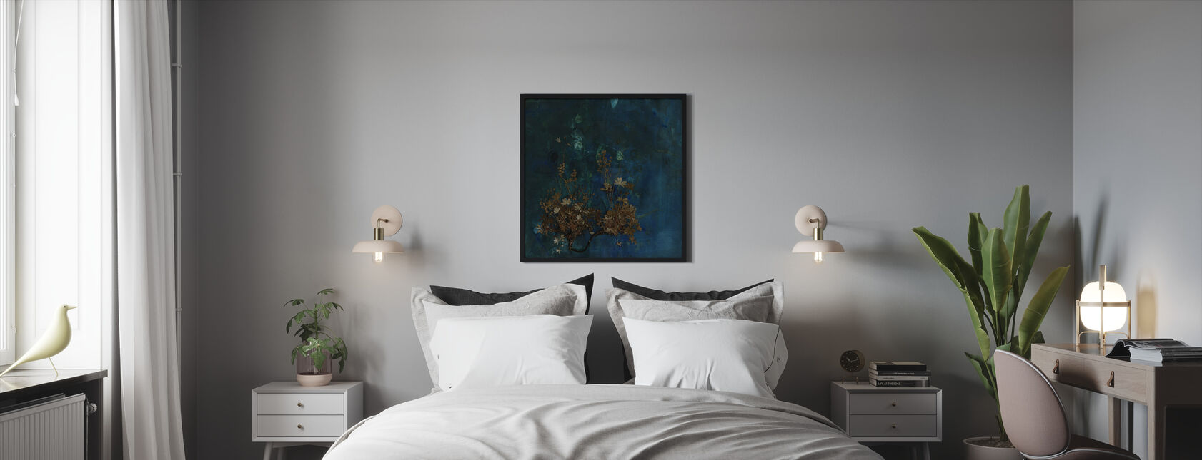 Plateau - Framed print - Bedroom