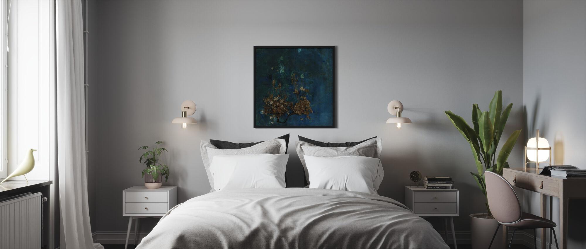 Tasanko - Kehystetty kuva - Makuuhuone