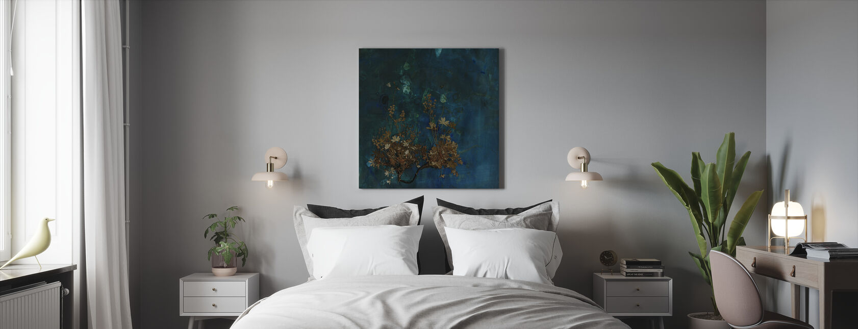 Hochebene - Leinwandbild - Schlafzimmer
