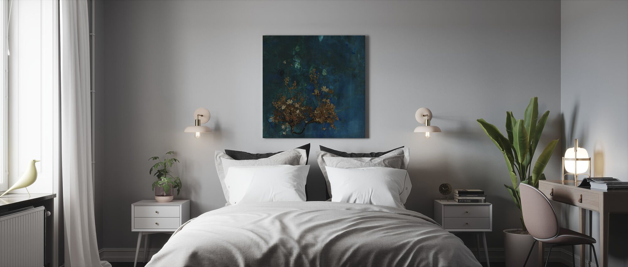 Plateau - Canvas print - Bedroom