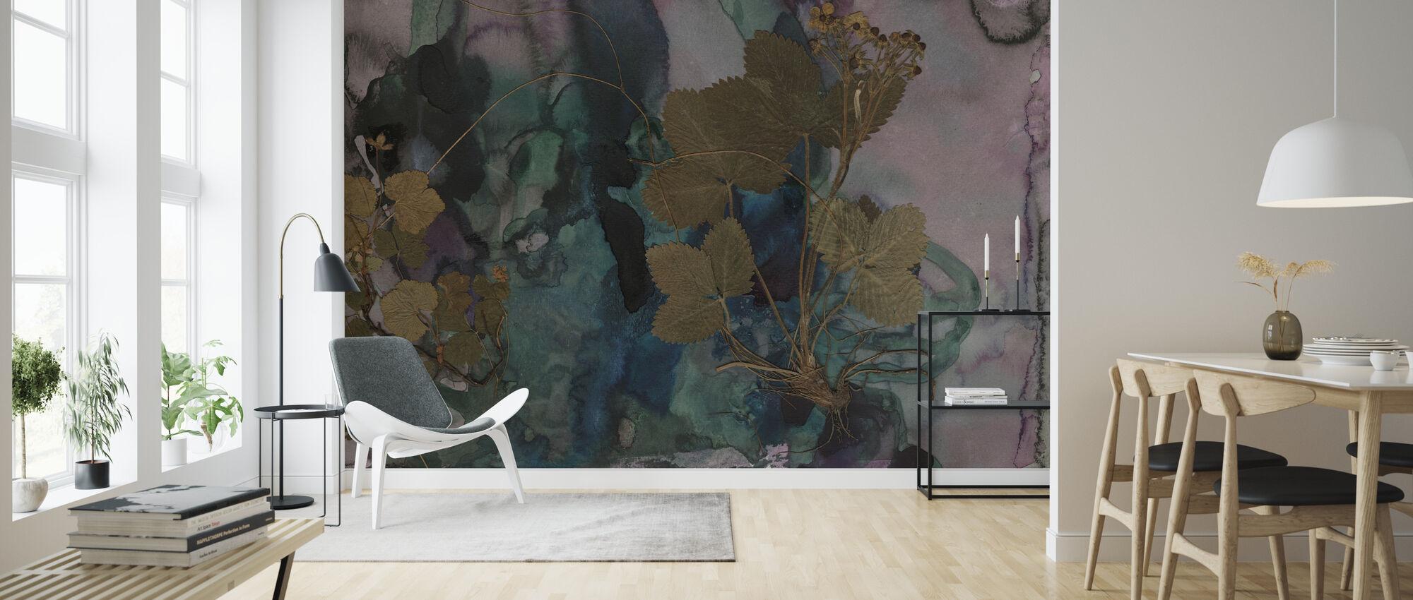 Strawberries - Wallpaper - Living Room