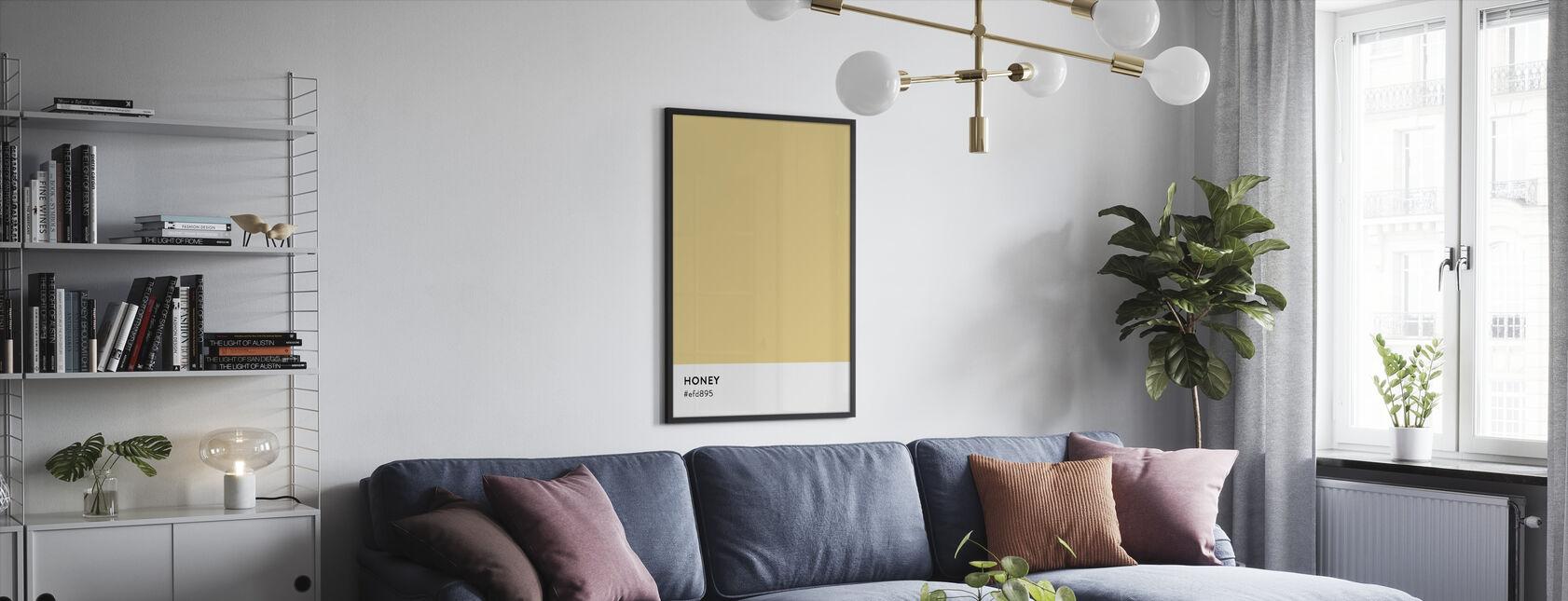 Honey - Framed print - Living Room