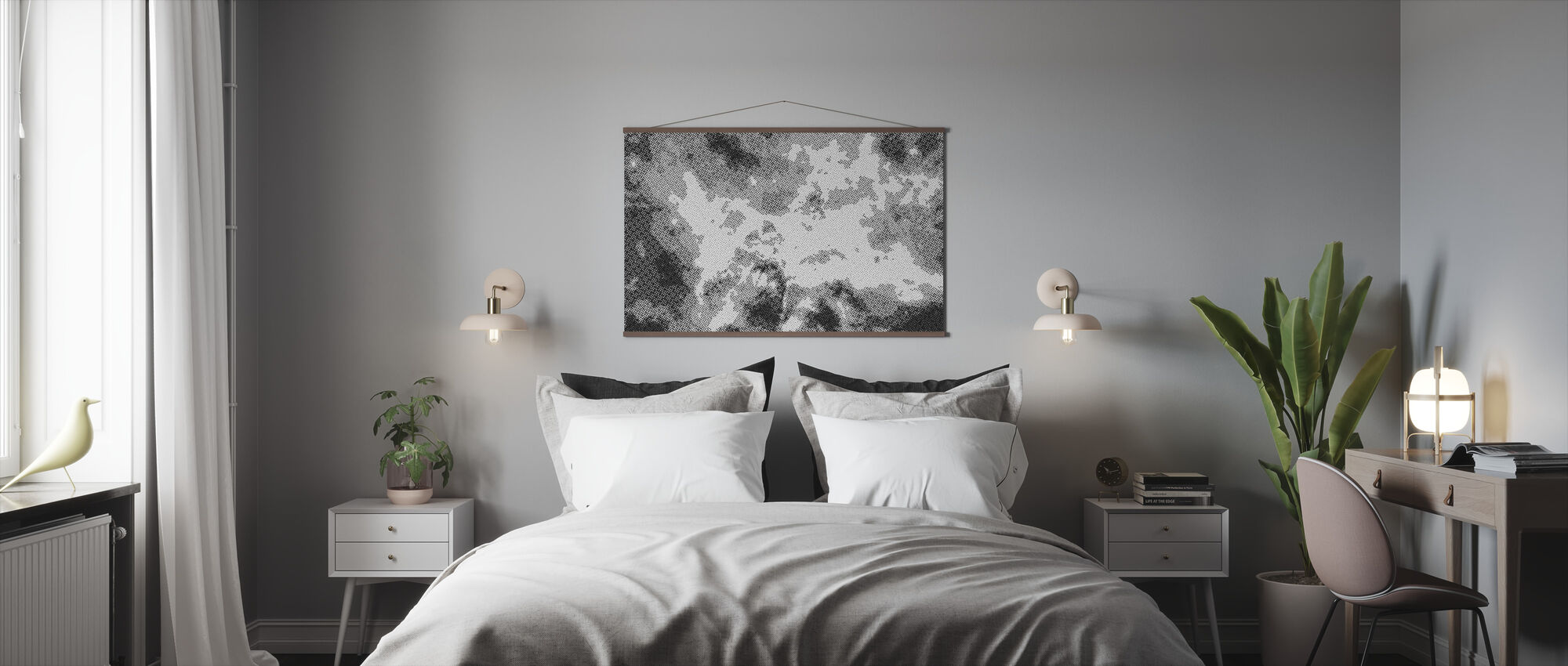 Final Frontier Nebula Two - Poster - Bedroom