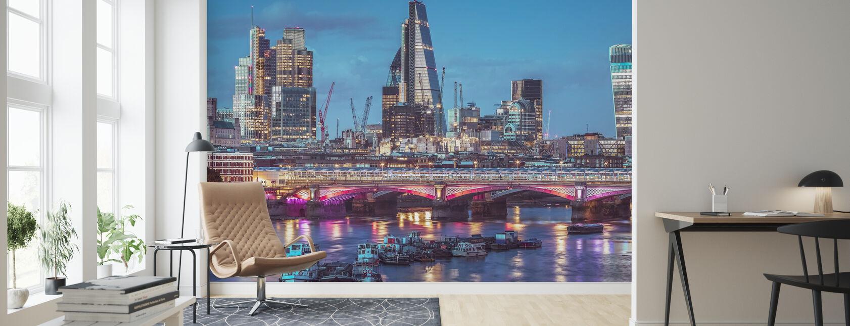 London Dawn - Tapet - Stue