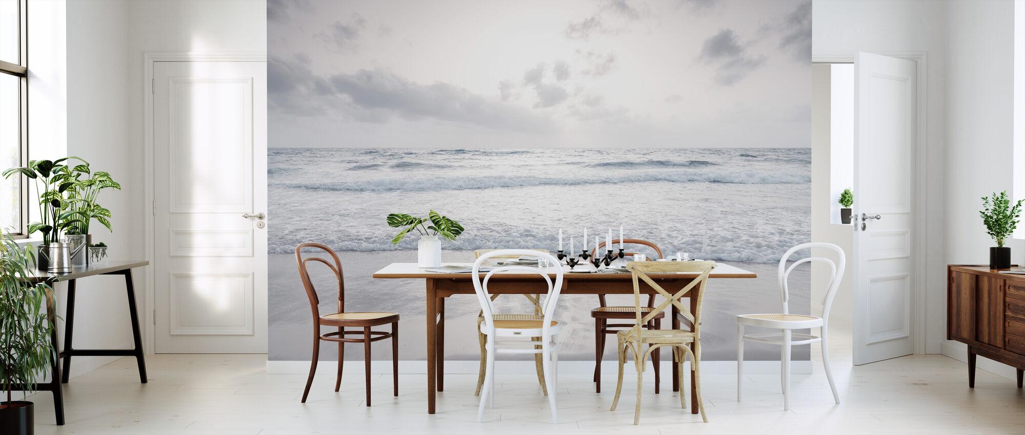 Still Beach - Behang - Keuken