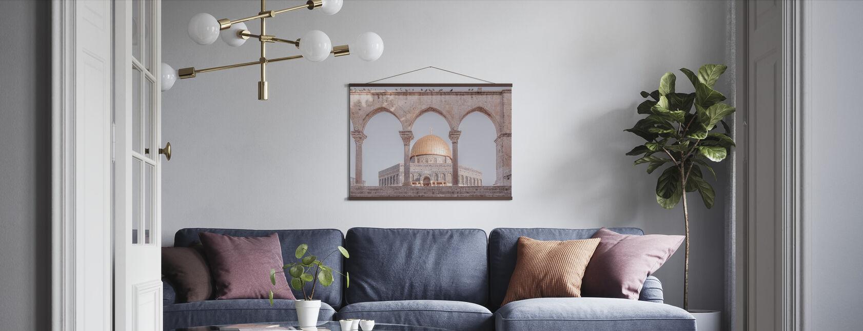 Al-Aqsa-moskeen - Jerusalem - Plakat - Stue