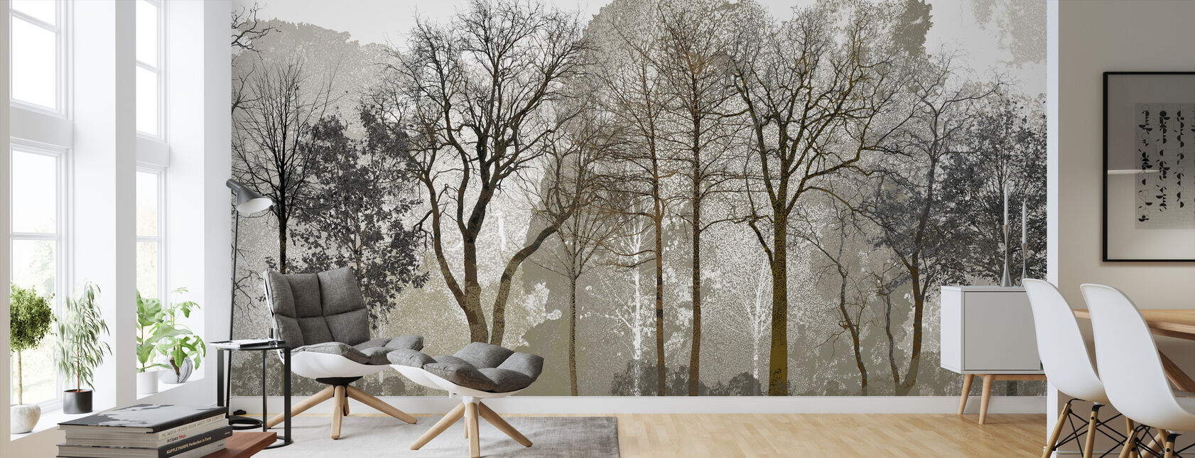 Autum in the Woods - Wallpaper - Living Room