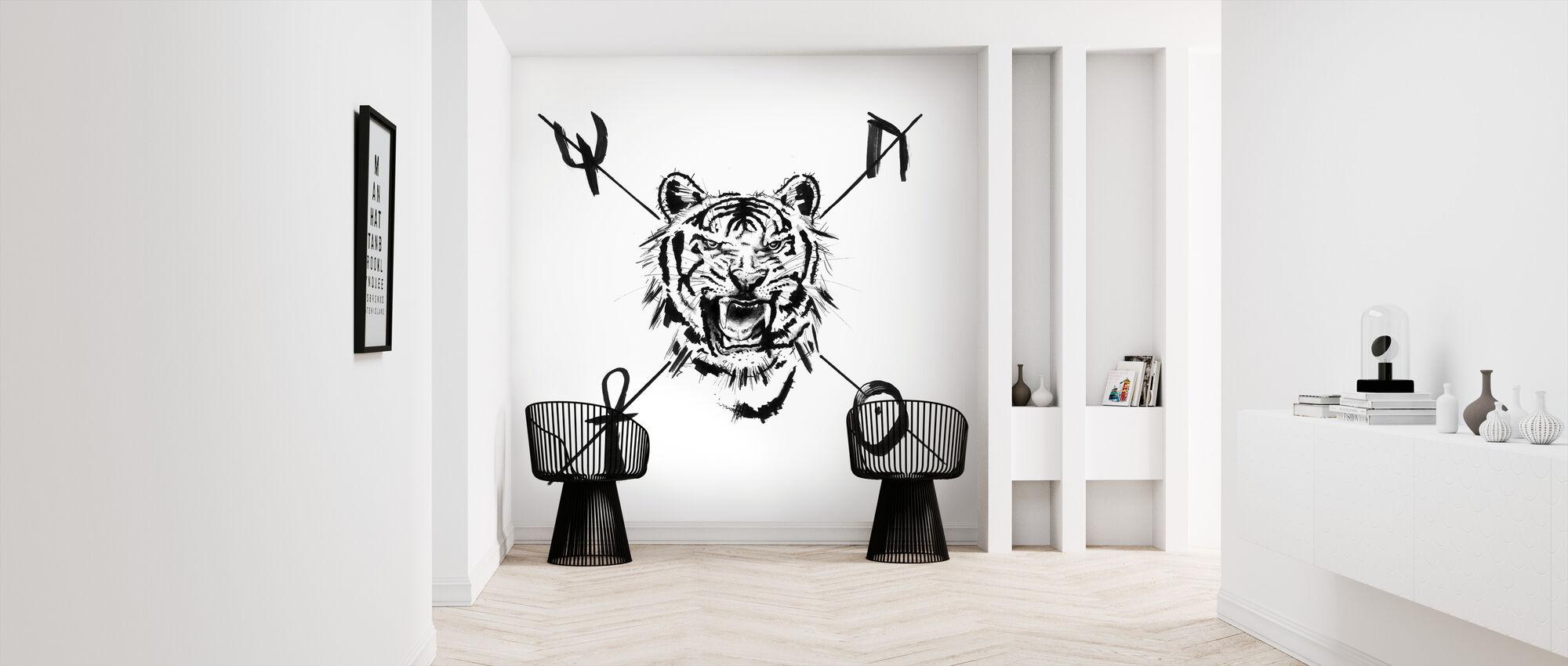 Mystic Tiger - Wallpaper - Hallway