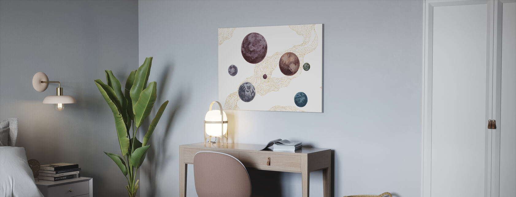 Into the Space - Canvas print - Office