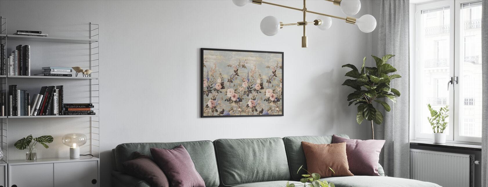 Fairy Tale Botanic - Framed print - Living Room